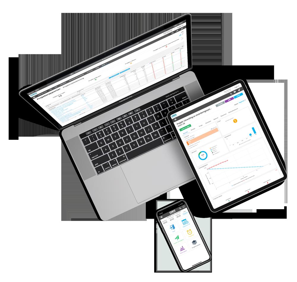 få projektledning och tidsrapporteringsverktyg i ett med QBIS