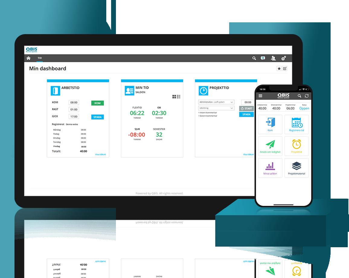 Gör tidrapporteringen enkel med hjälp av QBIS -stämpelklocka