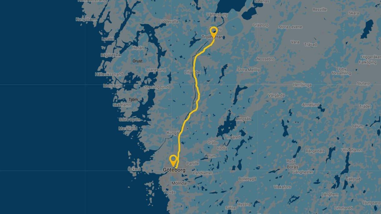 Beräkna resans längd och få korrekta data med QBIS Milersättning tool